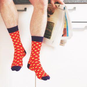Bold spot socks